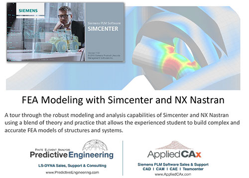 9781513630656 FEA Modeling with Simcenter and NX Nastran